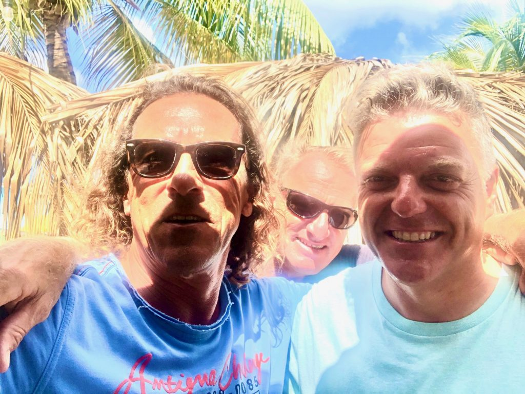 Mit Hans-Peter und Roberto